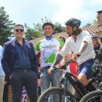 """Gambarie, inaugurato il Bike Park. Brumotti a CityNow: """"Aspromonte? Voto 10 più!"""""""