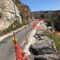 Cedimento strada provinciale Lazzaro-Motta San Giovanni-Sant'Antonio: dal 2018 ad oggi nulla è cambiato