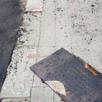 Sbarre Centrali, lavori di bitumazione a traffico aperto: la nota di 'Fiamma Tricolore' - FOTO