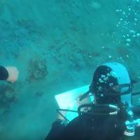 Reggio, scoperta archeologica. Il VIDEO delle immersioni nello Stretto