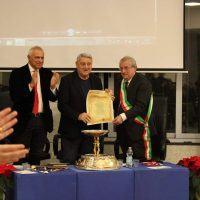Il Maestro Gerardo Sacco riceve la cittadinanza onoraria a Diamante