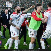 Bari, Antenucci: 'Non siamo mai riusciti ad avvicinarci alla Reggina'