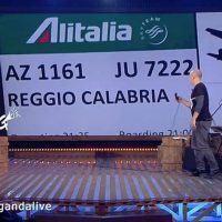 #PropagandaCalabria, Zoro (La7) a Reggio per vedere che aria tira - VIDEO