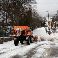 Gambarie, arriva la prima neve. Il sindaco Malara: 'Teniamo le dita incrociate' - FOTO