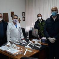 GOM di Reggio, nuova donazione di DPI per Terapia Intensiva, PS e Radioterapia - FOTO