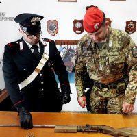 Detenzione illegale di armi: arrestato un 64enne in provincia di Reggio