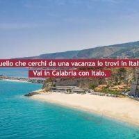 Vacanze estive, Italo promuove la sua nuova destinazione: la Calabria