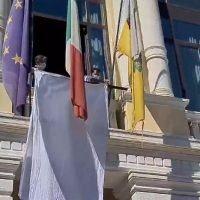 Strage di Capaci, Falcomatà: 'Un lenzuolo bianco per ricordare' - VIDEO