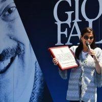 Commemorazione Falcone a San Luca, Santelli: 'Istituzioni al fianco delle persone perbene' - FOTO