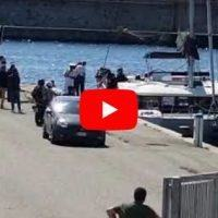 L'arrivo di Jeremy Menez al porto di Reggio Calabria
