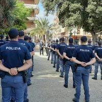 Questura di Reggio, 90 poliziotti in città per incrementare l'organico - FOTO