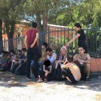 Ferruzzano, sbarcati sessanta migranti: saranno sottoposti a tampone - VIDEO