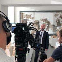 Reggio, terminate le riprese della troupe di Sky al MArRC