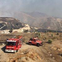 Vasto incendio nel reggino, canadair in azione - FOTO