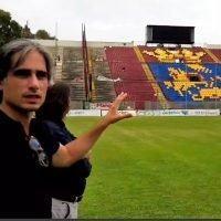 Stadio Granillo, Falcomatà: 'Seguiamo i lavori. Sorpresa in Curva Sud per i tifosi'
