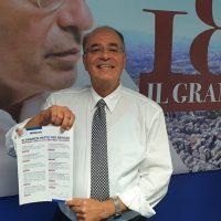 Comunali Reggio, Minicuci firma il suo impegno per la città con il 'Patto per la rinascita'