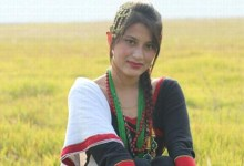 Photo of Rubina in Newari Costume