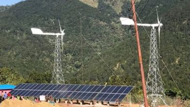 Photo of Nepal's largest wind-solar hybrid power system comes into operation