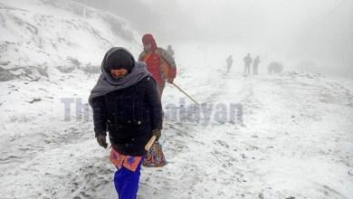 Photo of Heavy snow around Kalinchowk area