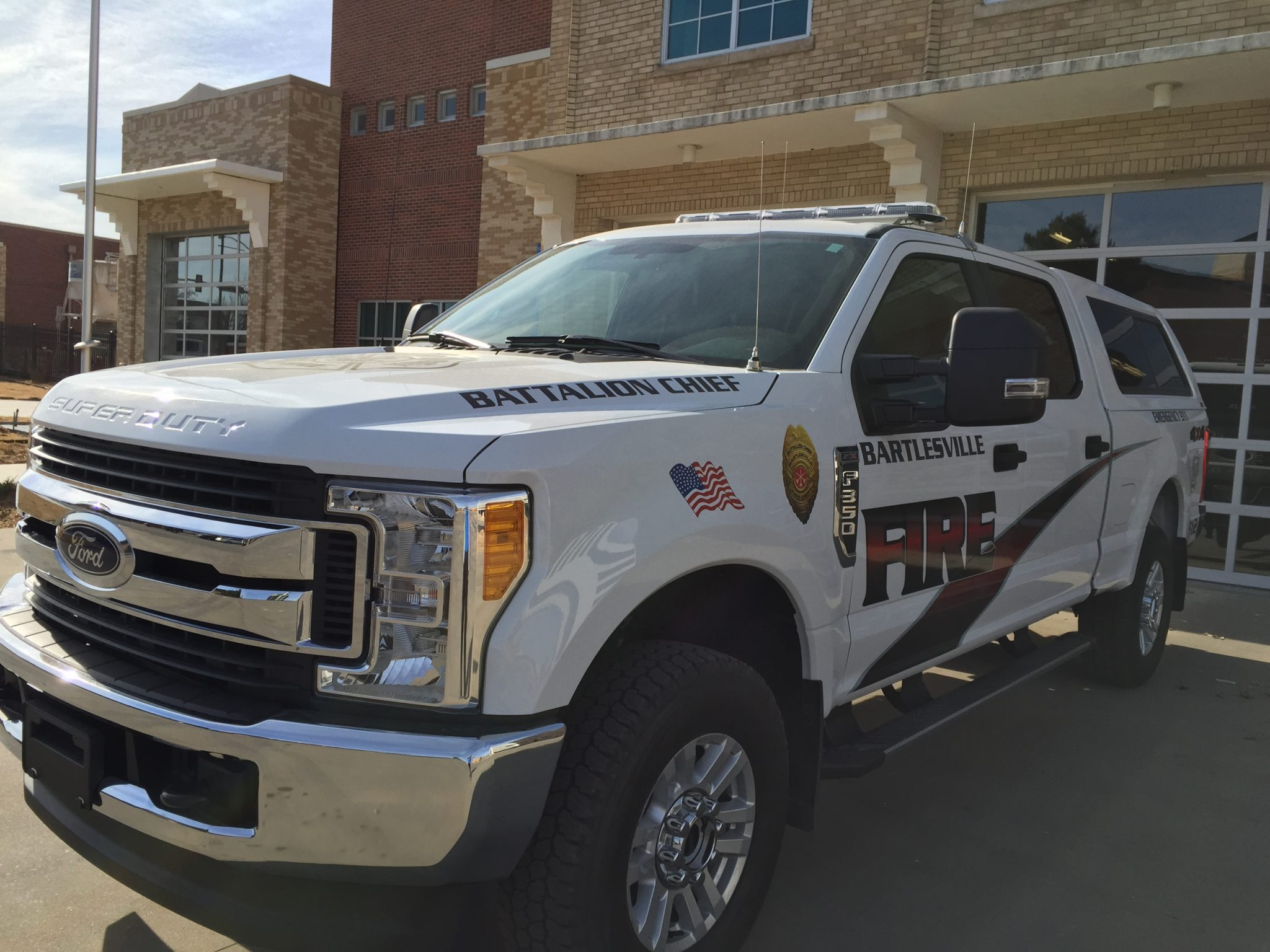 Fire Department Command Vehicle Purchased With Cip Funds