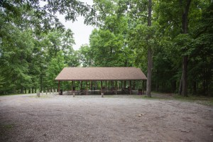 camping and picnic areas at Burrell Park