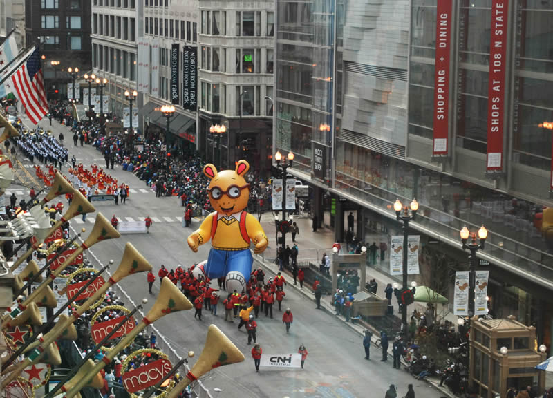 City Of Chicago Chicago Thanksgiving Parade