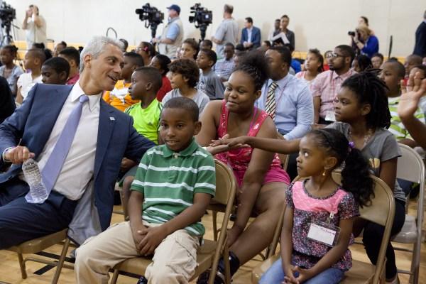 City Of Chicago Mayor Emanuel Highlights Importance