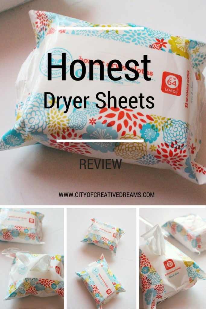 Honest Dryer Sheets Review | City of Creative Dreams