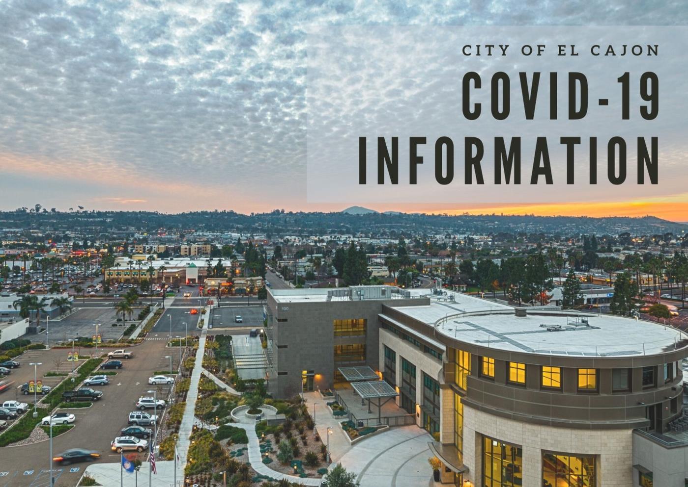 Coronavirus (COVID-19) Information | El Cajon, CA