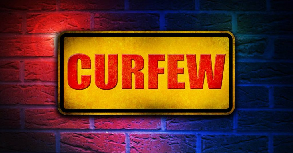 Police Chief Activates Special Events Curfew during Back