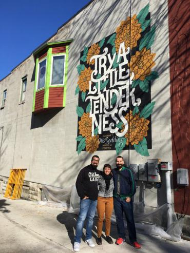 Try a Little Tenderness Mural  City of Madison City of Madison Wisconsin