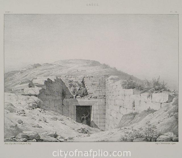 Tombeau d'Agamemnon à Mycènes.