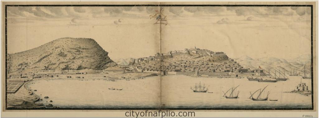 Napoli de Romanie_Nauplie_ François Dubuisson_en 1699