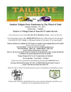 Outdoor Tailgate Party Fundraiser @ Tent