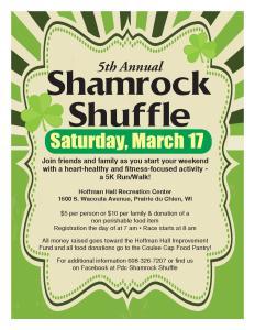Shamrock Shuffle @ Hoffman Hall