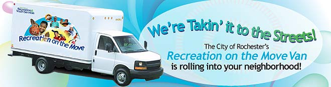Recreation on the Move Van