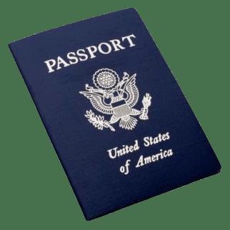 Photo of a U.S. Passport book