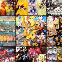 shopping in disneyland
