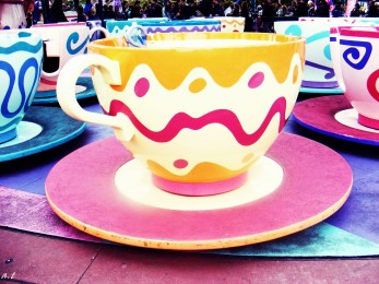 the mad hatter's teacup ride