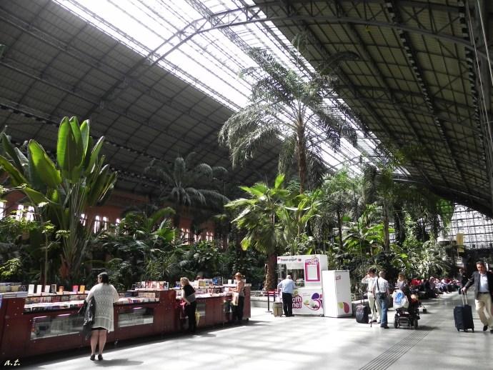 Atocha Metro Station, Madrid