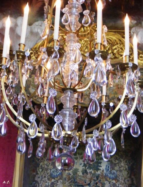 chandeliers of Versailles