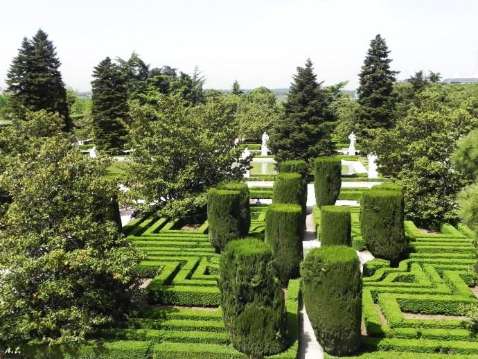 Gardens of Palacio Real
