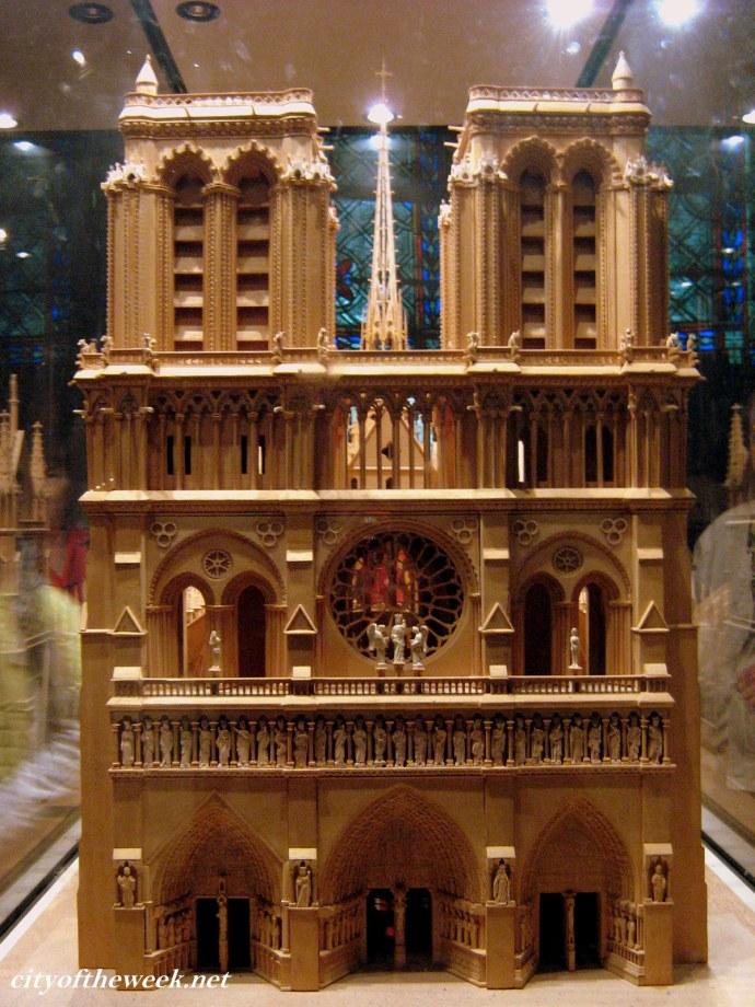 scale-model facade