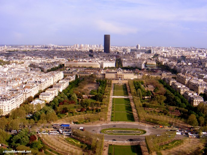 lovely view from the Eiffel