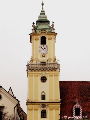 Bratislava historic center