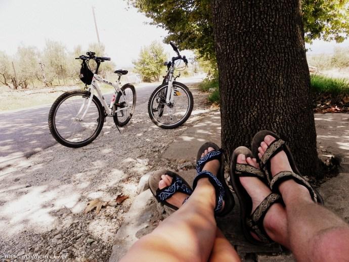 bike day in Leptokarya