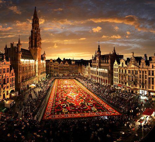 Bruxelles Flower Market