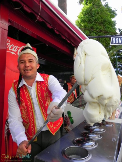 (turkish ice cream)