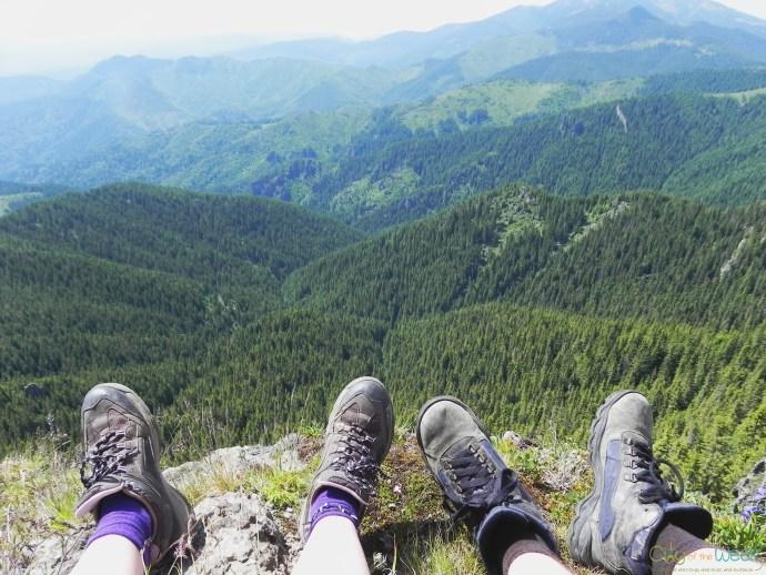 view from Tihu Peak 1799 meters