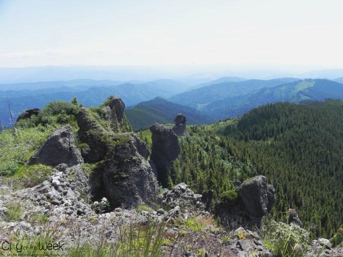 view from Tihu Peak / priveliste de pe varful Tihu